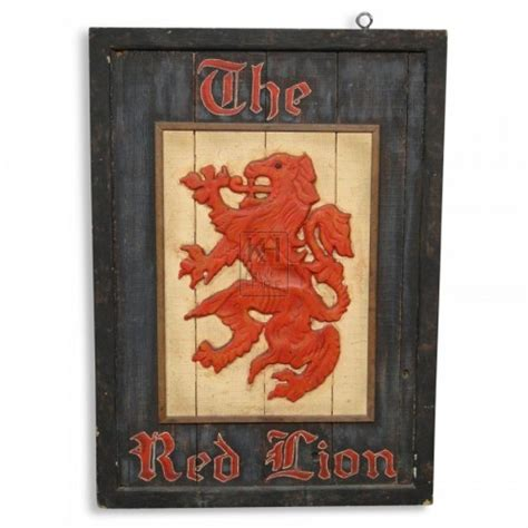 red lion film uk signs prop hire 187 the red lion pub sign keeley hire