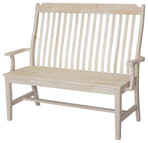 craftsman style bench mission style bench craftsman accent and storage