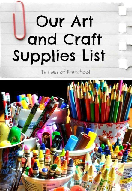 craft supplies for best 25 arts and crafts supplies ideas on