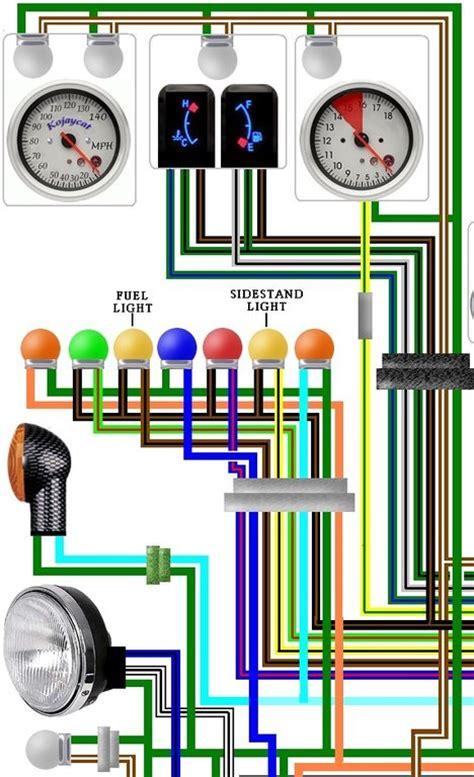 honda st1100 pan european 1995 uk colour wiring diagram