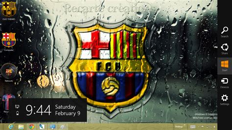 wallpaper tema barcelona download gratis tema windows 7 barcelona fc 2013 theme