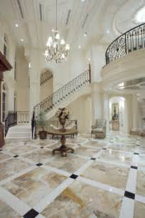 Tile Foyer Designs Beautiful Straight Staircase In Florida Luxury Stairs