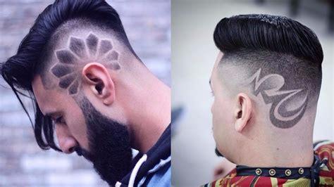 trending halloween boys spiderweb haircut youtube men s hairstyles designs 2017 2018 new haircut designs