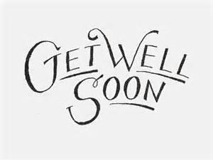 Get well soon text art design imagefully com
