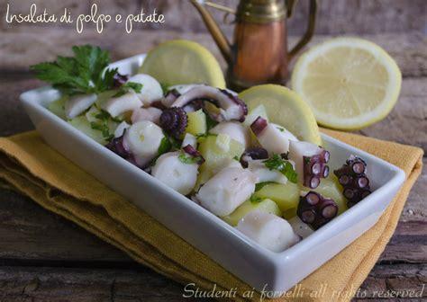 come cucinare il polpo in insalata insalata di polpo e patate tenerissima e facile ricetta