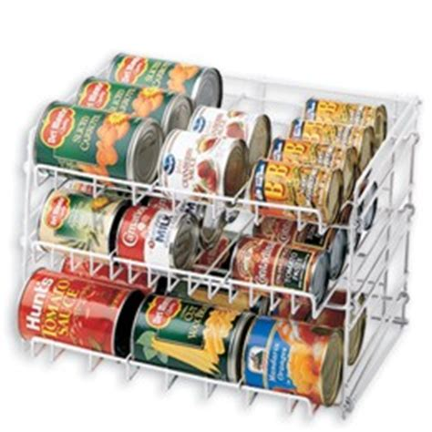 Kitchen Pantry Can Organizer Gravity Feed Can Rack The Container Store