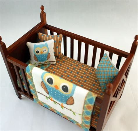 Crib Collections by Dollhouse Crib Owl Jr Nursery Collection