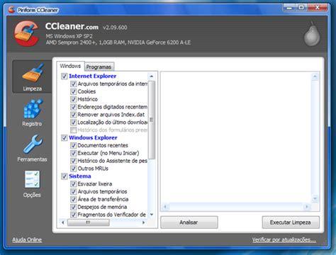 ccleaner que é isso atualiza 231 227 o ccleaner 2 09 600 tecnologia e downloads