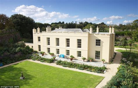 Big Houses Floor Plans by Prince Charles Cornish Manor House With Its Own Keep Is