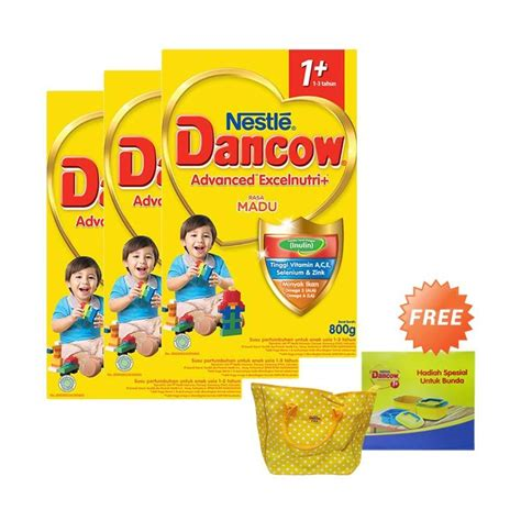 Dancow 3 Madu Box 800g jual buy 3 dancow madu 1 formula 800 g box