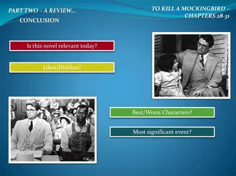 themes of to kill a mockingbird part 2 ppt to kill a mockingbird chapters 28 31 powerpoint