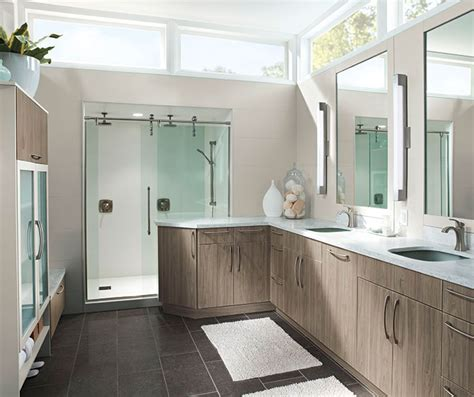 using kitchen cabinets in bathroom modern bathroom cabinets in thermofoil kitchen craft