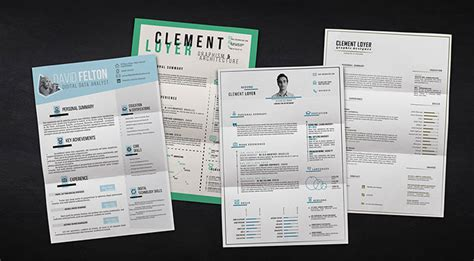 the 30 best resume templates of 2016 web graphic
