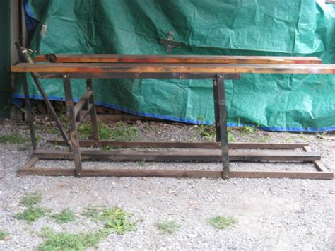 garden tractor lift table home made lift any opinions or ideas tool shed gttalk