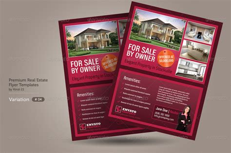 real estate marketing flyers templates best photos of small business flyer templates business