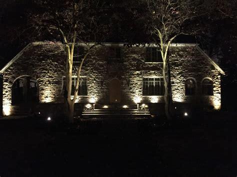 Outdoor Lighting Installation Light Up Your With Landscape Lighting C E Pontz Sons Landscape Contractors