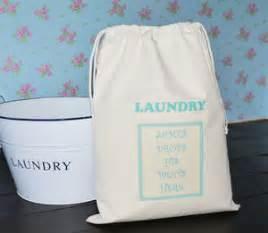 Laundry Hers Uk Cotton Laundry Bag Drawstring