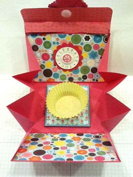 How To Make Cupcake Holders With Paper - 897 best images about paper craft ideas on