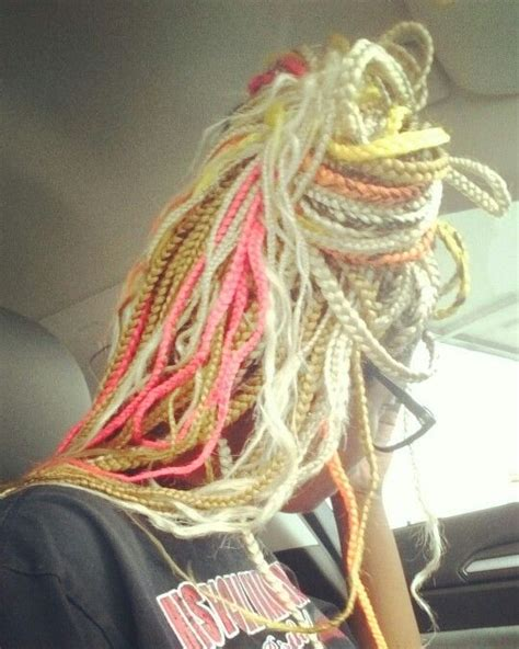 pink black n blonda braids 1000 images about protective hairstyles how to style