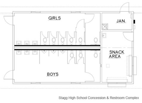 concession stand floor plans stagg high school concession restroom complex enviroplex