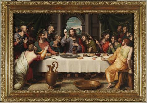 la ultima cena de jesus y sus discipulos pintura y fotografia r vicent jes 250 s de nazaret en el arte