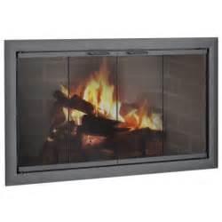 bifold fireplace doors brookfield zero clearance fireplace door