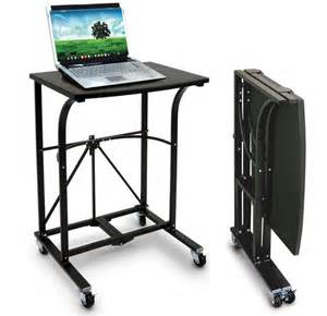 Portable Desk by Practical Fold Away Portable Laptop Desk Hardware Sphere