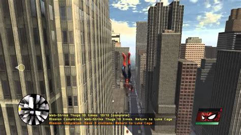 spider man web of shadows swinging spider man web of shadows swinging gameplay hd youtube