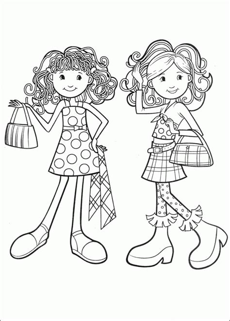 Groovy Girls Coloring Pages Coloringpagesabc Com Groovy Coloring Pages
