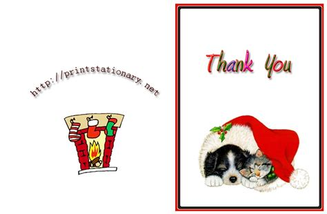 printable thank you holiday cards free free christmas thank you cards free printable holiday