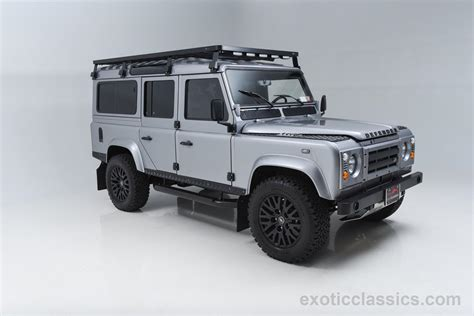 vintage land rover defender 110 1986 land rover defender 110 exotic and classic car