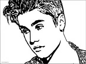 justin bieber coloring pages justin bieber coloring pages wecoloringpage