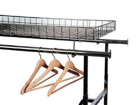 Garment Rack With Top Shelf by Top Shelf For Quot H Quot Clothing Rack