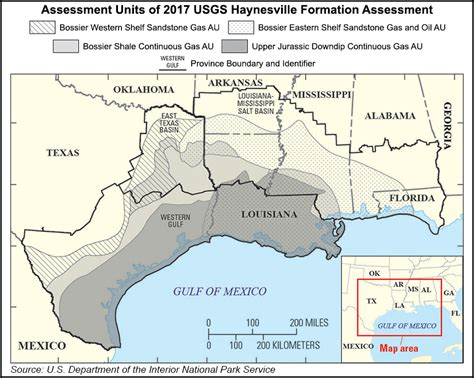 louisiana formation map usgs much more gas in bossier haynesville formations