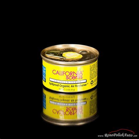 California Scents La Jolla Lemon california scents organic d 233 sodorisant de voiture parfum la jolla lemon