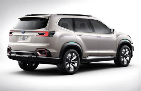 subaru viziv subaru previews new 7 seat suv with viziv 7 concept