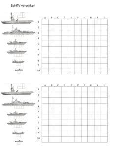 Vorlage Word Millimeterpapier Schiffe Versenken Vorlage Muster Und Vorlagen Kostenlos