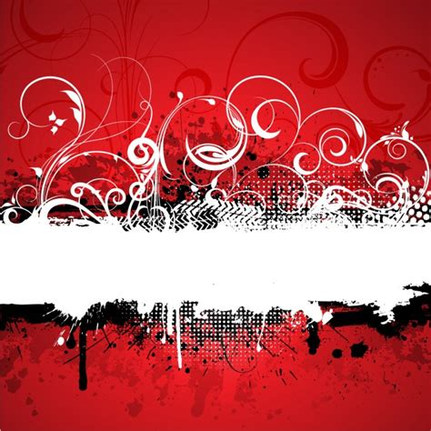 imagenes abstractas rojo y negro red grunge abstract background vector free download