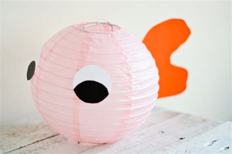 How To Make Paper Lantern Fish - how to make goldfish paper lanterns wikihow