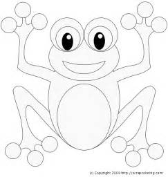 free coloring pages of cute frog