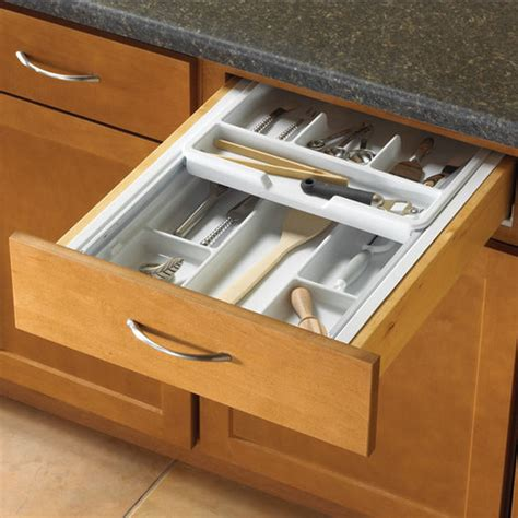 kitchen cabinet drawer inserts knape vogt tiered kitchen cutlery drawer insert