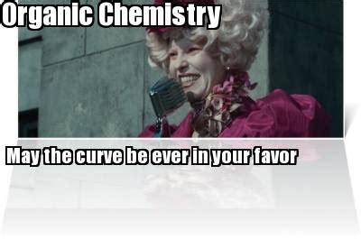 Organic Meme - meme creator organic chemistry may the curve be ever in