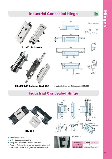 stainless steel cabinet hinges hl 211 2 stainless steel electrical panel industrial