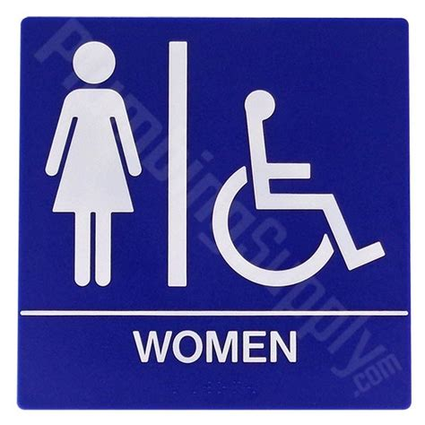 man woman bathroom symbol restaurant office commercial restroom signs