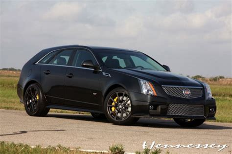 Cts V Black by Hennessey Cadillac Cts V Black Car Tuning