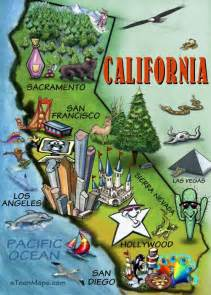 california tourism map musings spatial perspectives