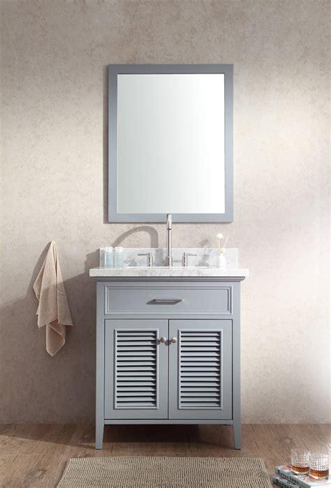 Ariel Vanity by Ariel Kensington 31 Quot Single Sink Vanity Set In Grey