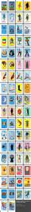 loteria template wars loteria cards chicana xicana
