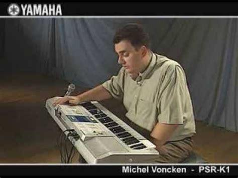 Keyboard Yamaha Psr K1 michel voncken on the psr k1