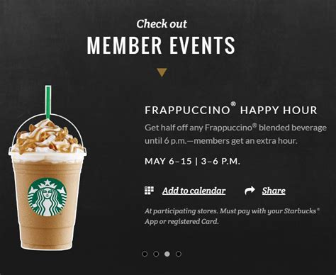 Starbucks Card Us The Year Of The Monkey 2016 starbucks happy hour 2016 half any frappuccino may 6